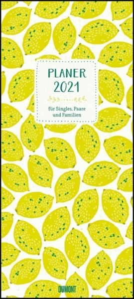 All about yellow 2021 - Planer mit variabler Spaltenzahl