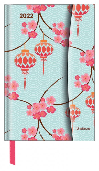 Japanese Papers 2022 Magneto Diary 10x15