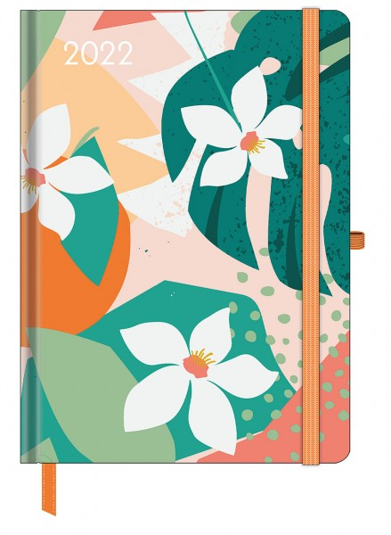 GreenLine Diary Floral 2022 16x22