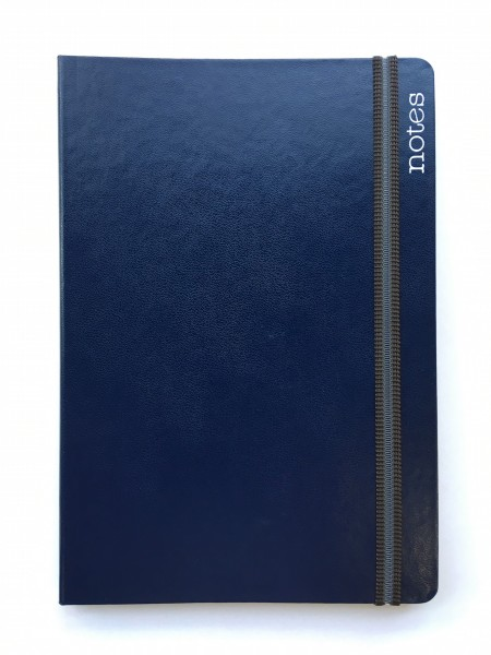 Notes Spine Plus A5, blau, liniert