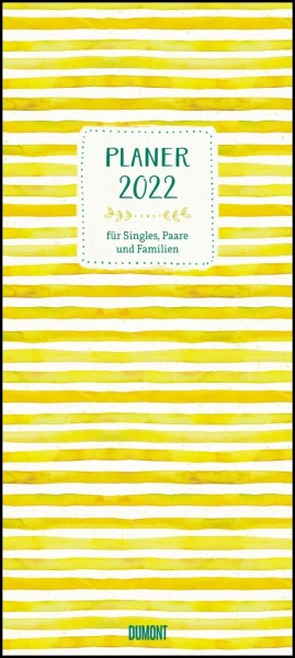 Kalender Planer 2022 All about yellow