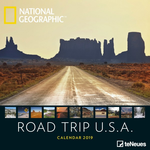 Road Trip USA National Geographic 2019
