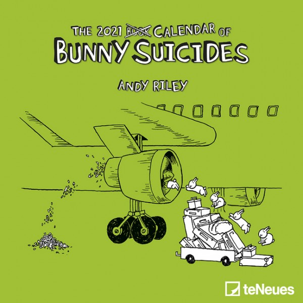 The 2021 Calendar of Bunny Suicides