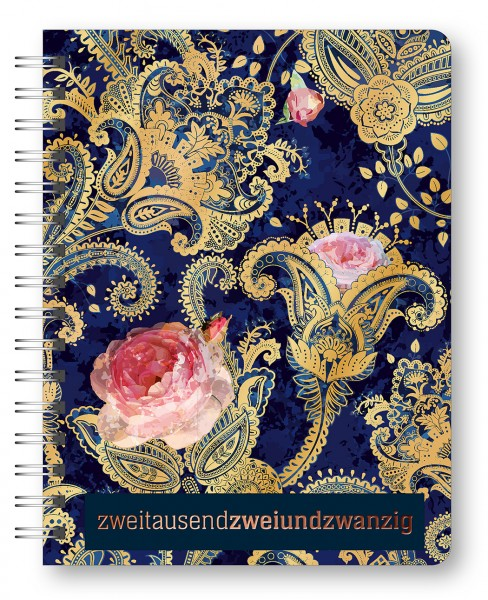 Glamour Planner Paisley 2022 16,5x21,6