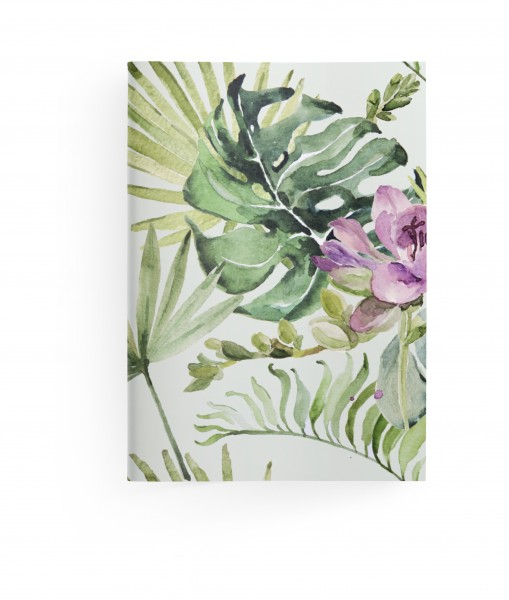 Green Booklets Floral