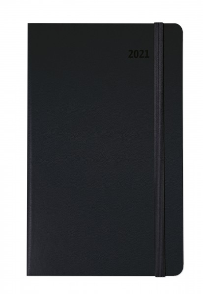 Planen & Notieren Hardcover Medium Paros schwarz