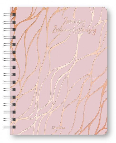 Glamour Planner Marble Rosé 2022 16,5x21,6